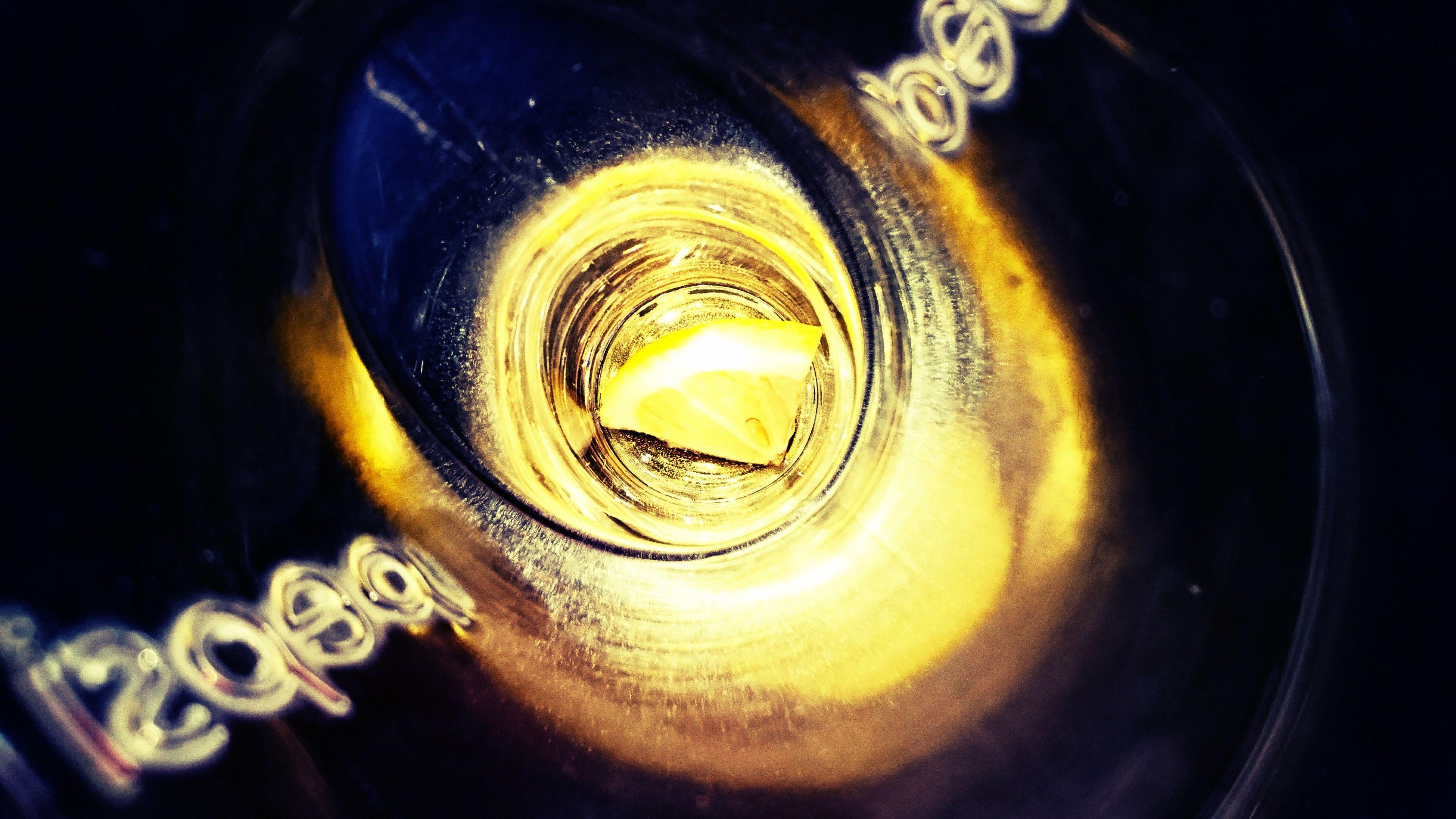 Lemon in a pepsi glass Lemon Pepsi Glass Abstract