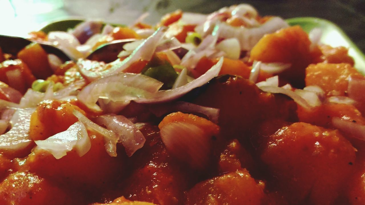 🍽🍴 Food Food Porn Love Eat Kerala India Yummy Freshness Ready-to-eat Food And Drink Healthy Eating Red Chilly Spicy Food Onion Close-up Indoors  No People Day