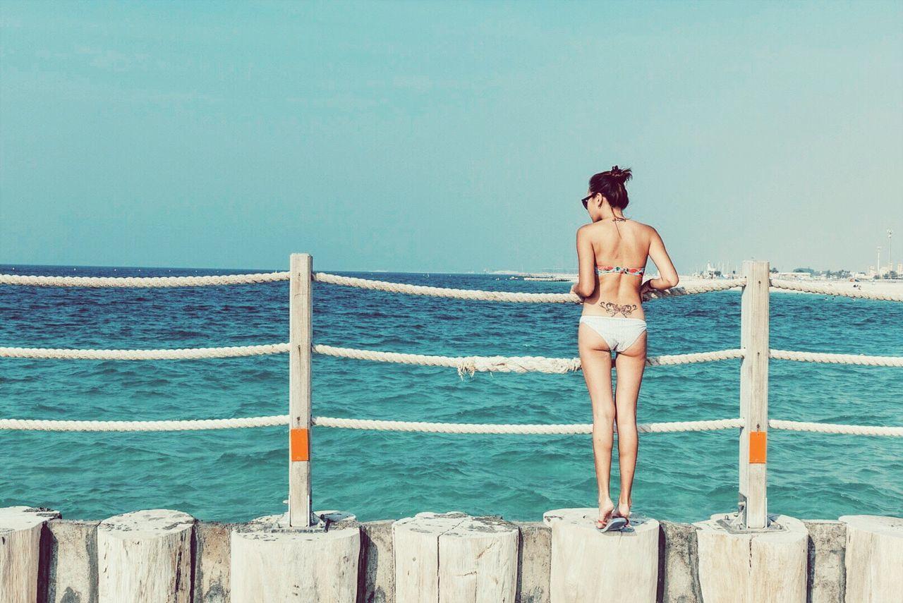 Beautiful stock photos of dubai,  25-29 Years,  Beach,  Beauty In Nature,  Bikini Bottom