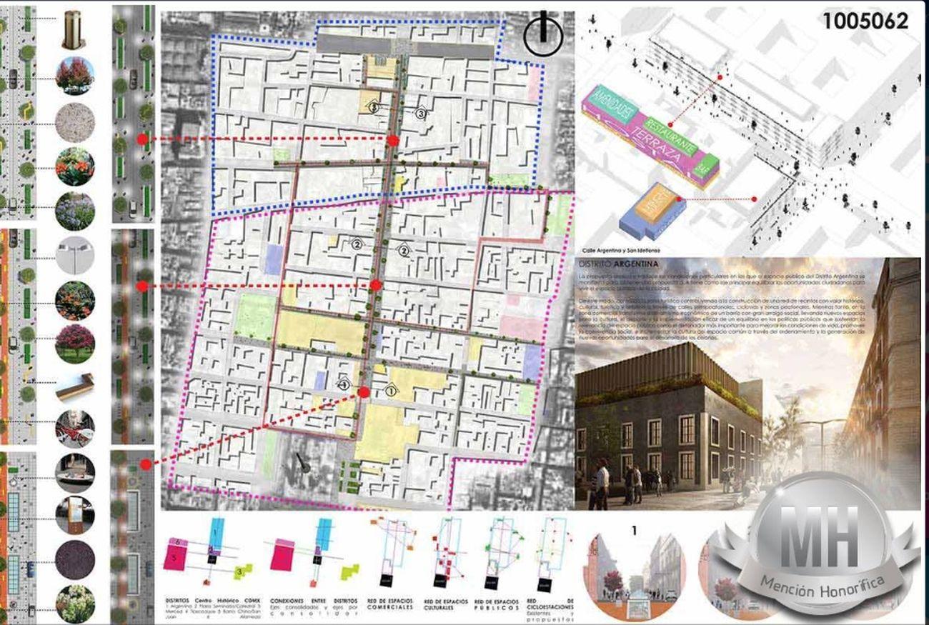 Hemos sido galardonados con la mención de honor: Categoría Plata (2do lugar) Intervencion Urbana  DistritoArgentina Cdmx Centro Historico Landscape Mexico City Architecture Of Mexico City by Fundamental