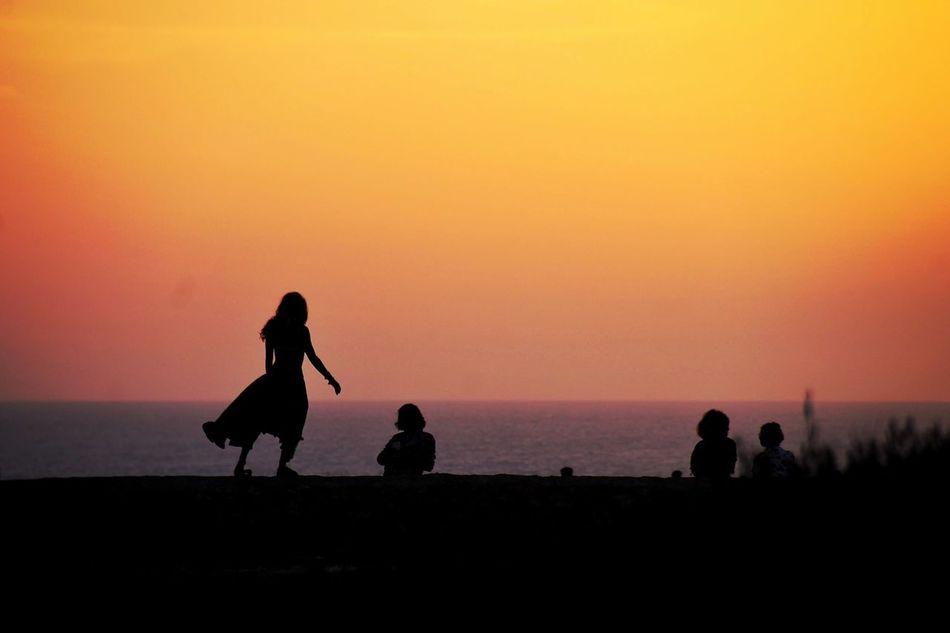 Summer 2016 Silouette & Sky Sunset Sunset Silhouettes Sunset_collection Orange Sky Cap De Barbaria Formentera La Isla Bonita