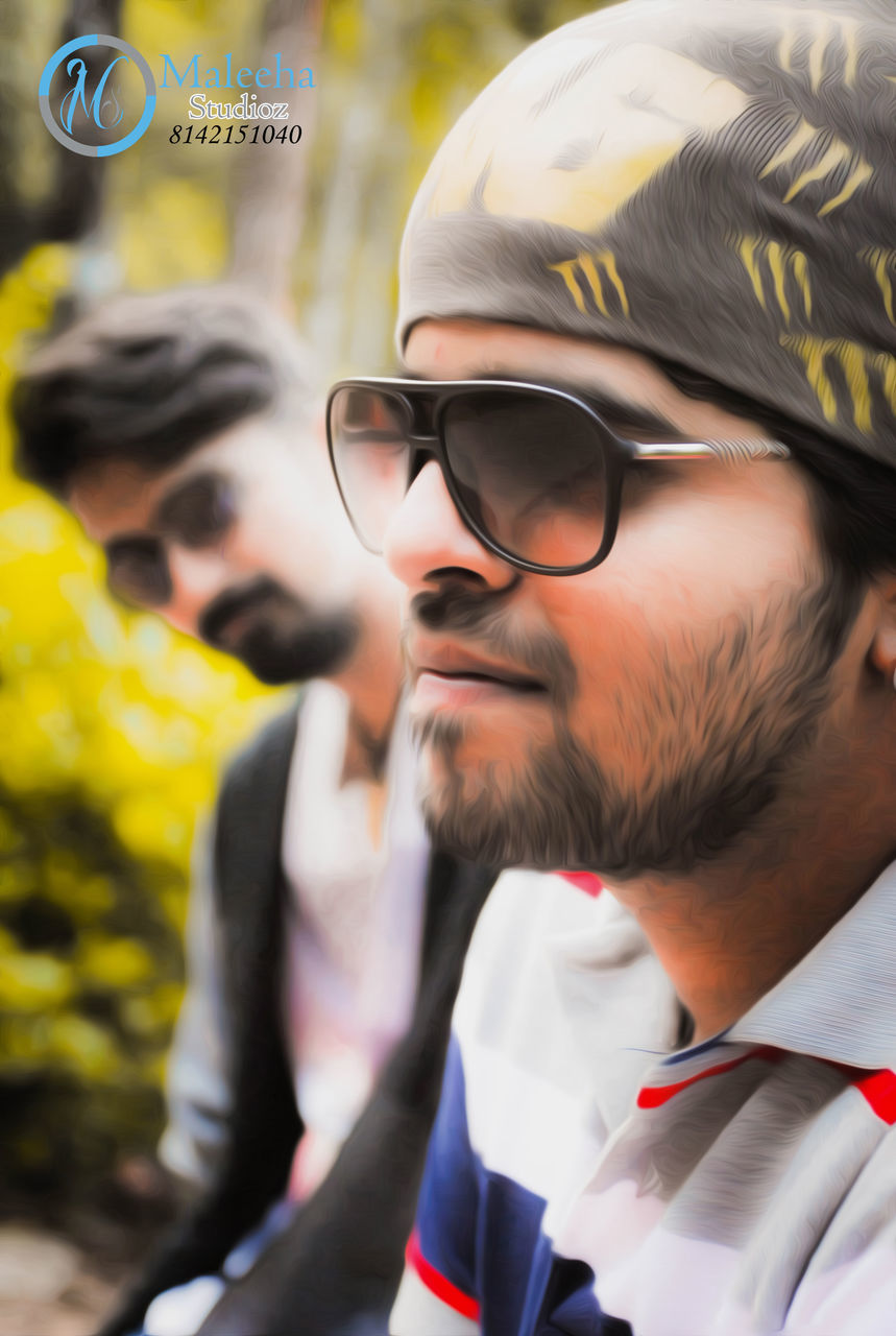 eyeglasses, real people, mid adult men, headshot, men, young men, focus on foreground, young adult, lifestyles, close-up, day, one person, outdoors, people