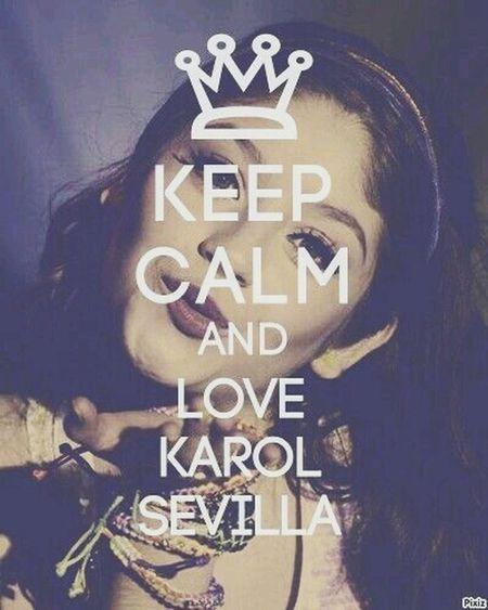 Te amoo karol Karol Sevilla Amorkarolista