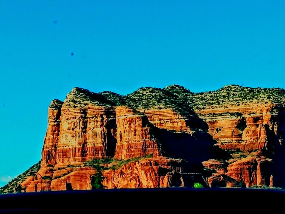Blue Wave Blue Skies Red Rock Sedona Arizona Feel the Energy Blue