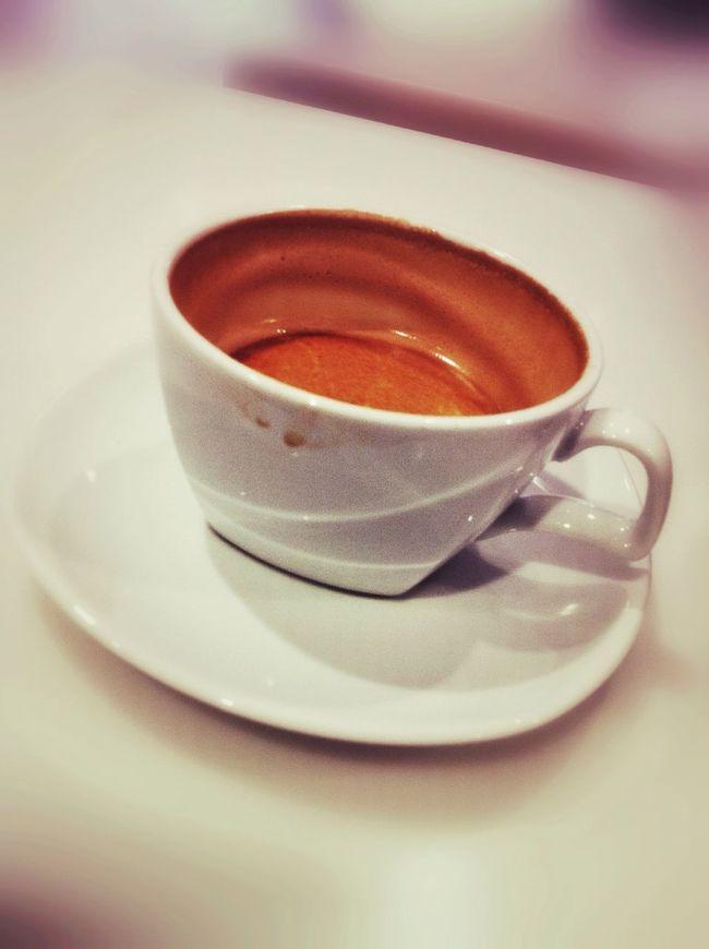 Coffee at Virgin Australia Lounge Coffee