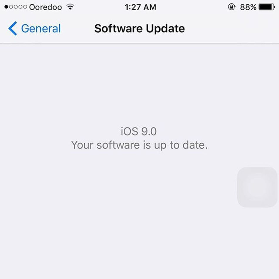 Apple IOS9 dan tann tann 😍😍