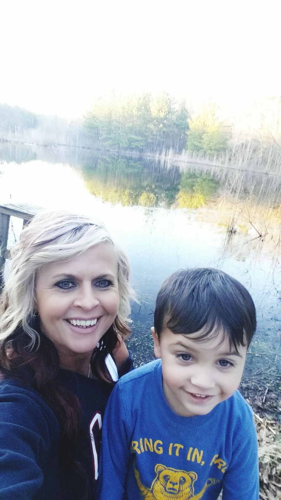 We love to walk down to the pond. Love Our Home Our Favorite Place He Has My Heart❤