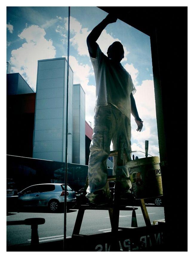 Painting Working Streetphotography Shootermag EyeEm Best Shots