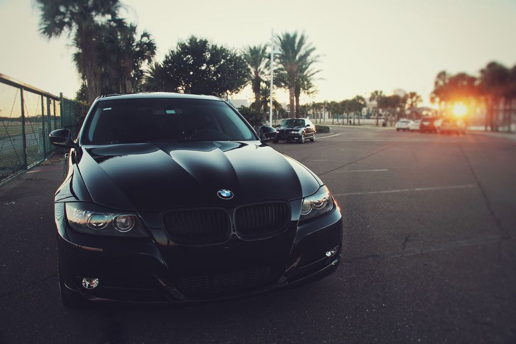 My car 2 years ago in front of the Dali Museum Bmw Downtown St Petersburg Dali Museum 335i E90 E36 Stock All Black Everything First Eyeem Photo