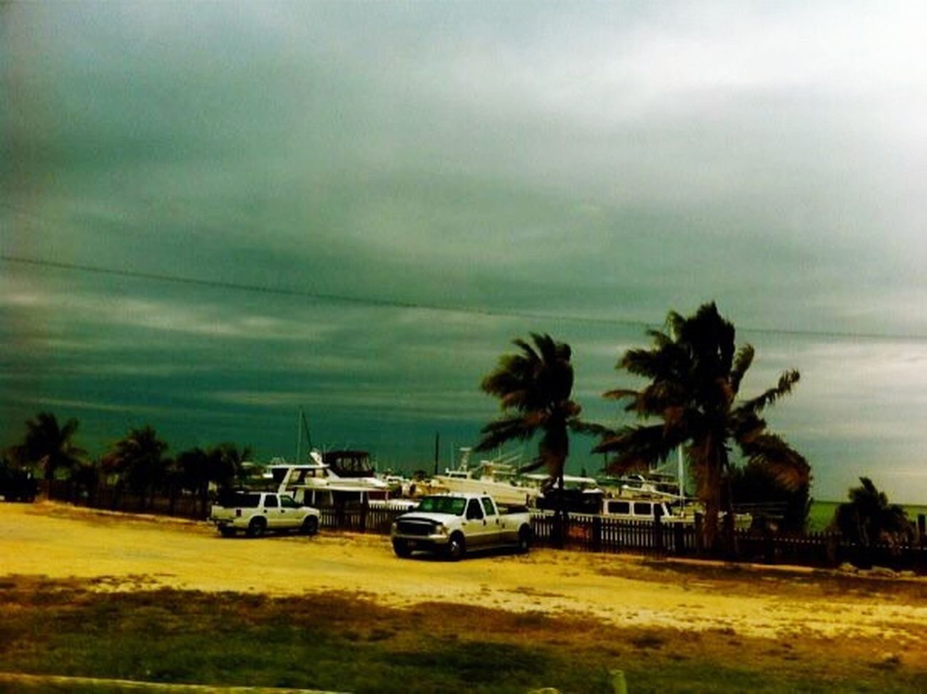 Key West Florida Storm Clouds And Sky Amazing View Taking Photos Watching The Storm Nature Photography