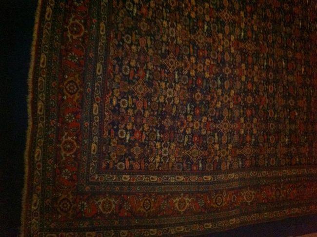 A Precious Bidjar Carpet In The Tehran Carpet Museum. It's Twin Is In Our Byblos Home.
