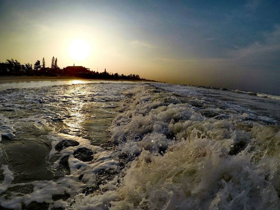 Nature Sunset Sky Tranquility Outdoors Beach Beauty In Nature Scenics No People Landscape Water Day Low Tide Gopro GoPrography Goprohero5 Gopro Shots Goprohero5black Veracruz Tecolutla Mexico
