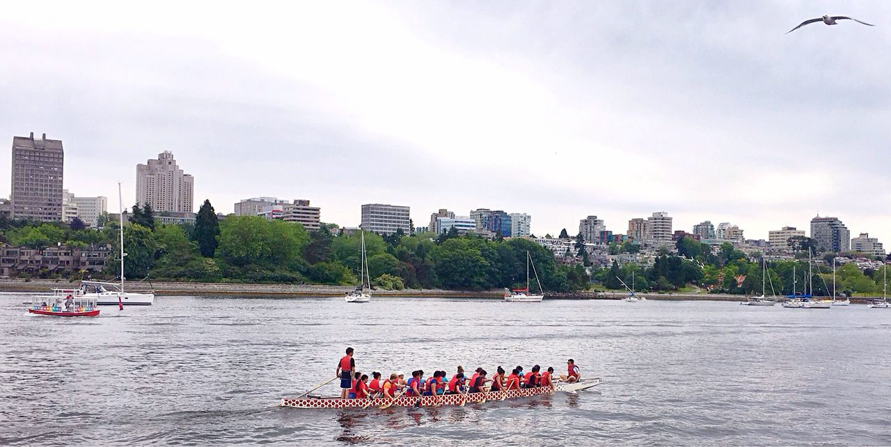 Vancouver BC False Creek Yaletownvancouver Dragon Races Rowing Sculling The Following Feel The Journey
