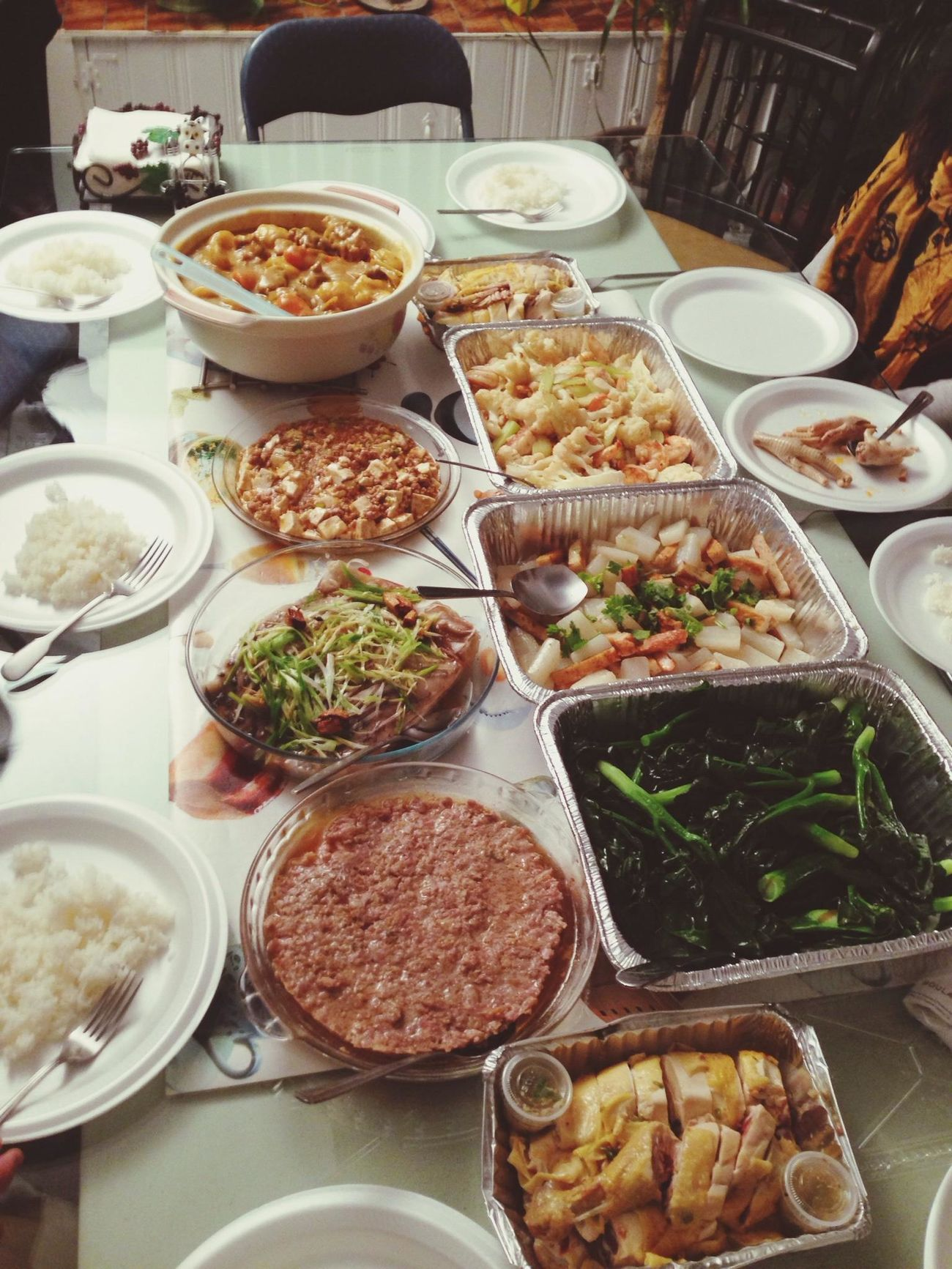 typical family dinner ... yummie