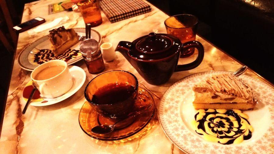 Cake Desserts ほっこり Dessert Tea Time