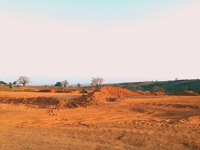#IphonePhotography Landscape Arid Climate Nature Agriculture No People Outdoors Desert
