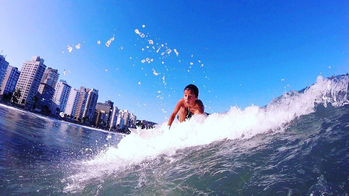 Guarujá Water Wave Surf 18-030 Gopro Blue Wave Mahalo Goprohero+lcd Surf's Up Sea ILoveWater Asturiasbeach Waves Aloha
