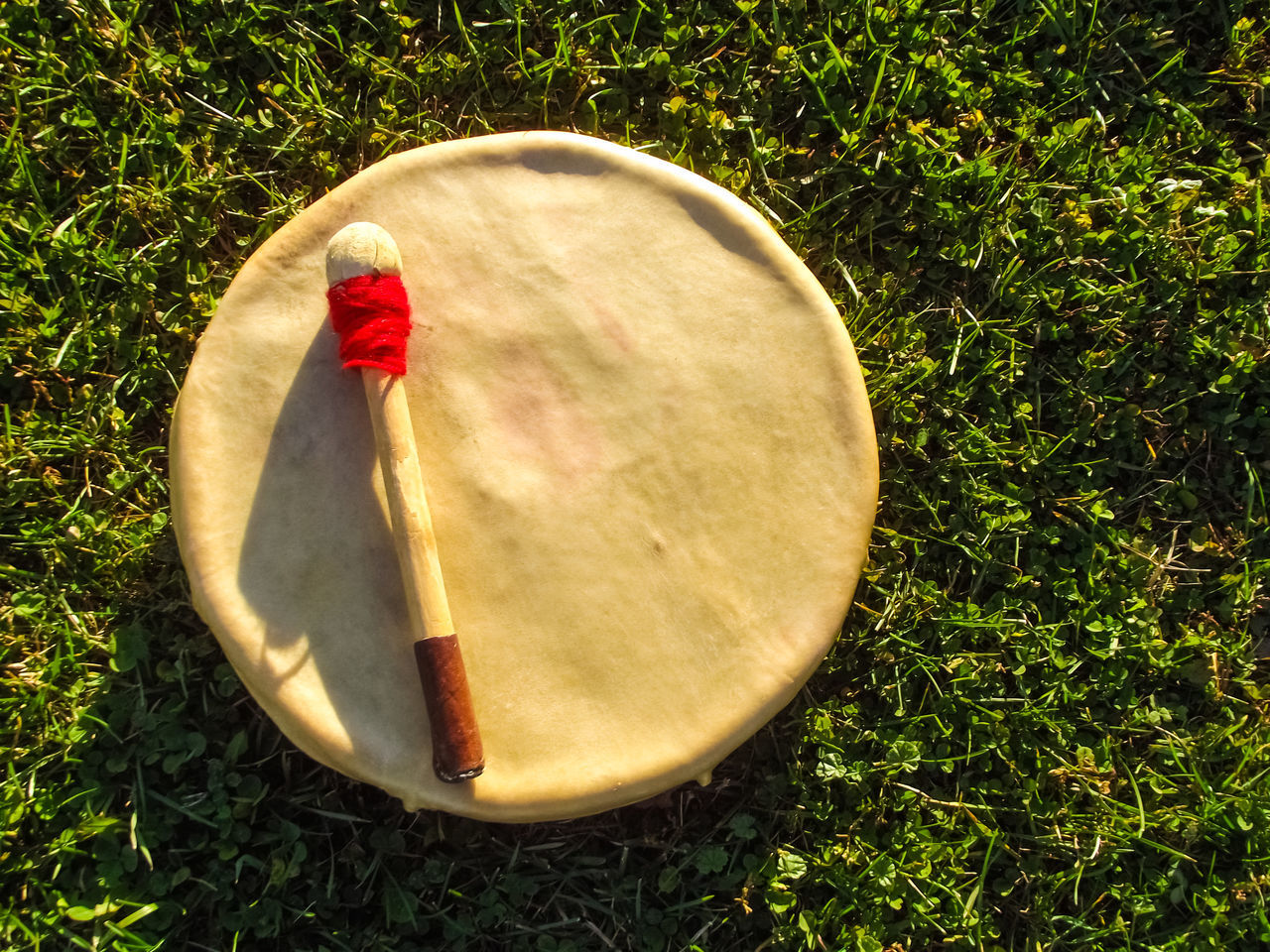 Close-up Composition Detail Drum Drums Evening Eye4photography  EyeEm Handdrum Native American Indian Nativeamerican  Objects Overhead View Selective Focus Still Life StillLifePhotography