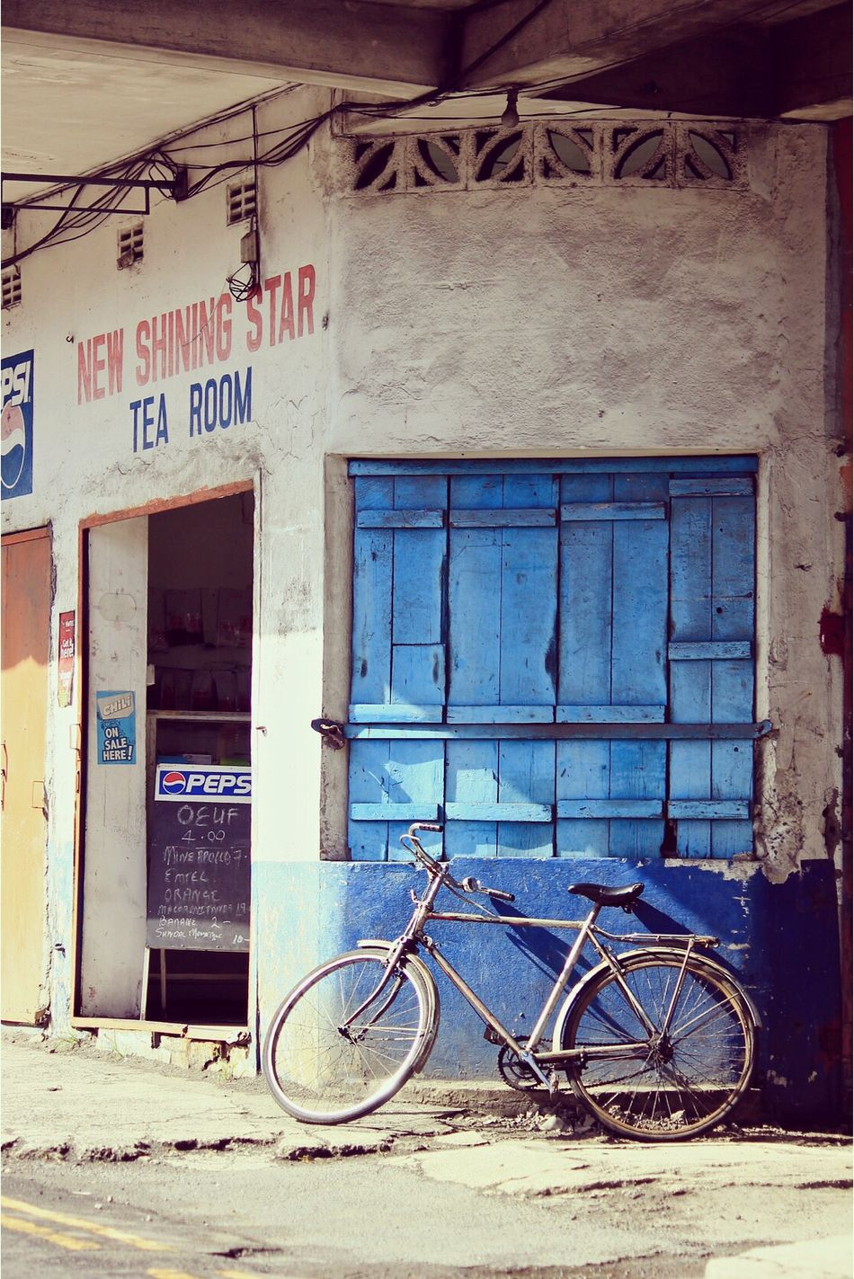 New Shining Star Streetphotography Streetphoto_color Bike Blue Dailylife Travel Photography Travel Diary Mauritius