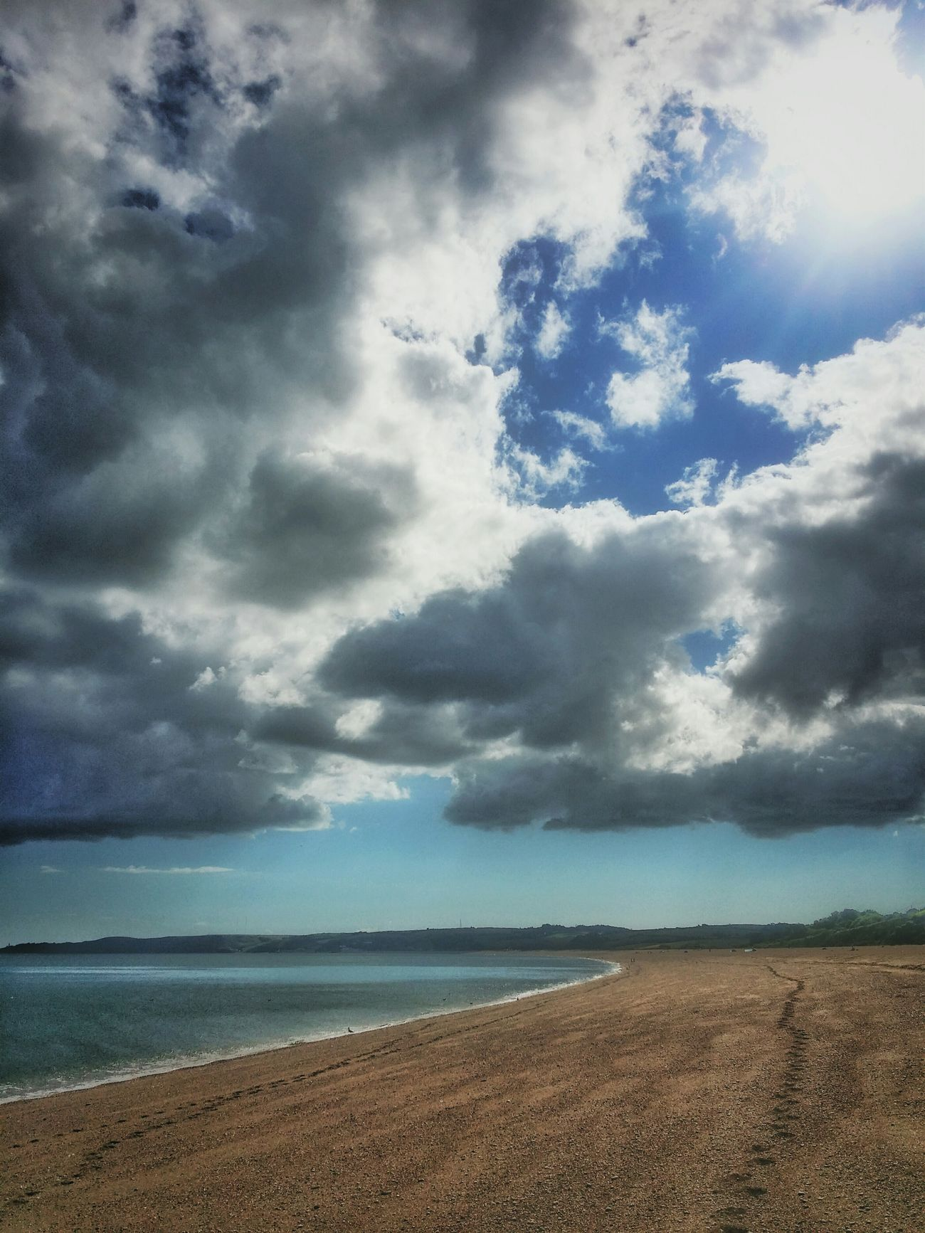 Torcross Beach Clouds And Sky Cloudporn Seascape