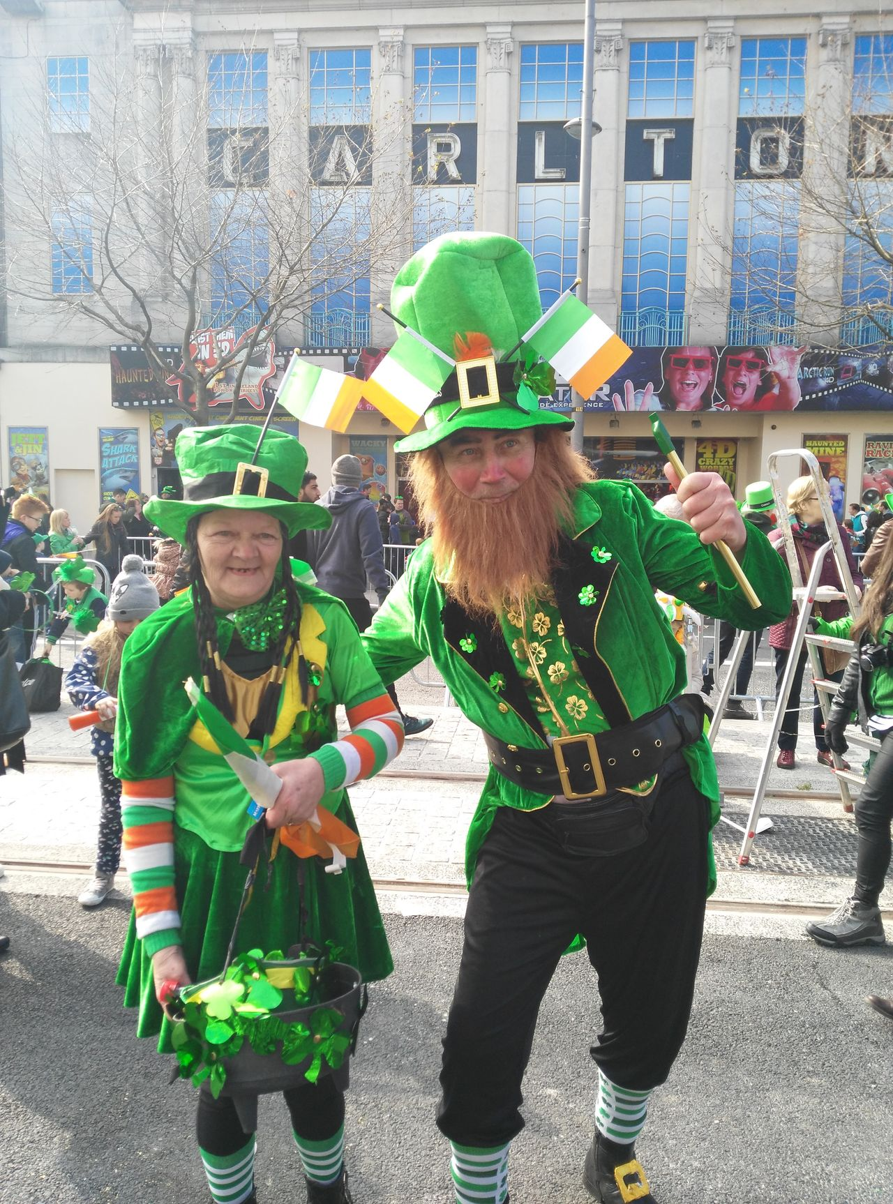 Fun Togetherness Two People Adult Day People Portrait Happiness Real People Outdoors City St. Patrick Day First Eyeem Photo