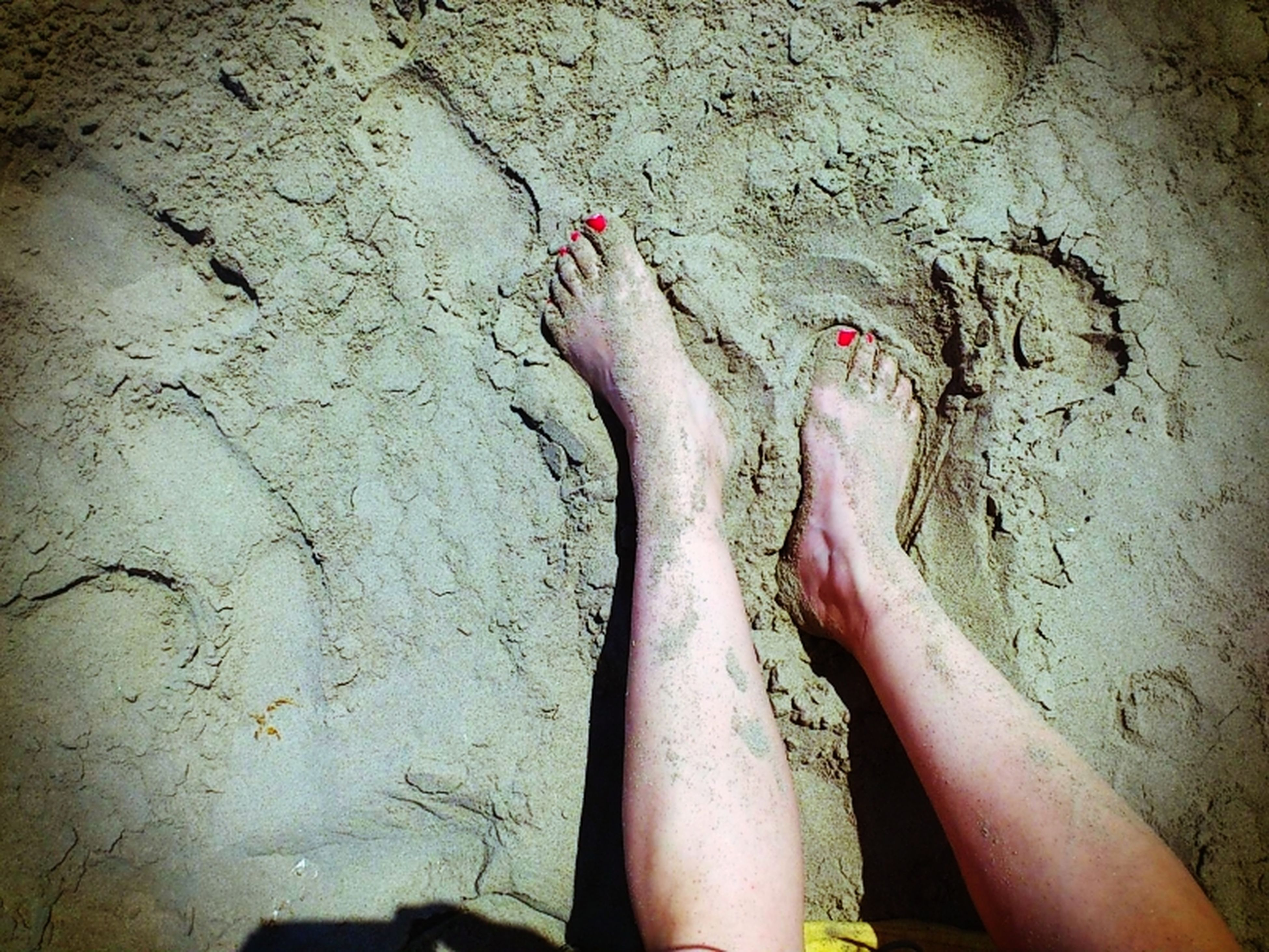 lifestyles, person, low section, barefoot, leisure activity, wall - building feature, human foot, indoors, part of, sensuality, standing, personal perspective, wall, love, day