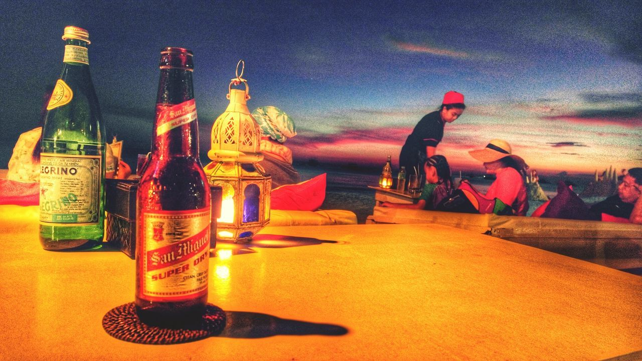 San Maguel Beer Boracay Philippines Sunset San Pelegrino The Essence Of Summer