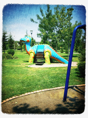 Dinosaurs at Eskişehir by Nsrn Erm Trn