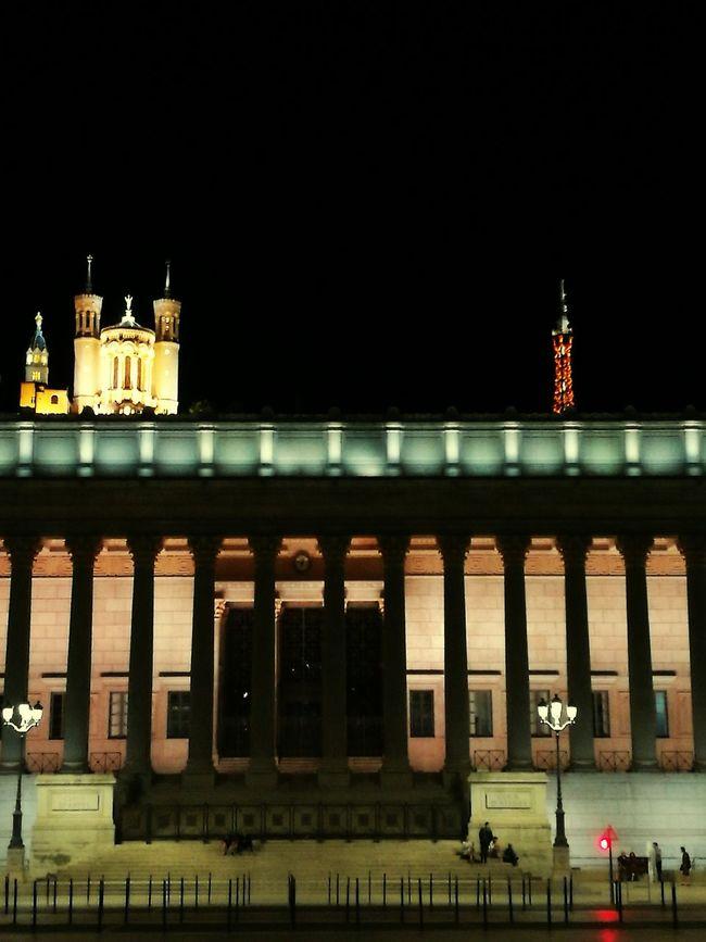 View lyon palais de justice fourviere