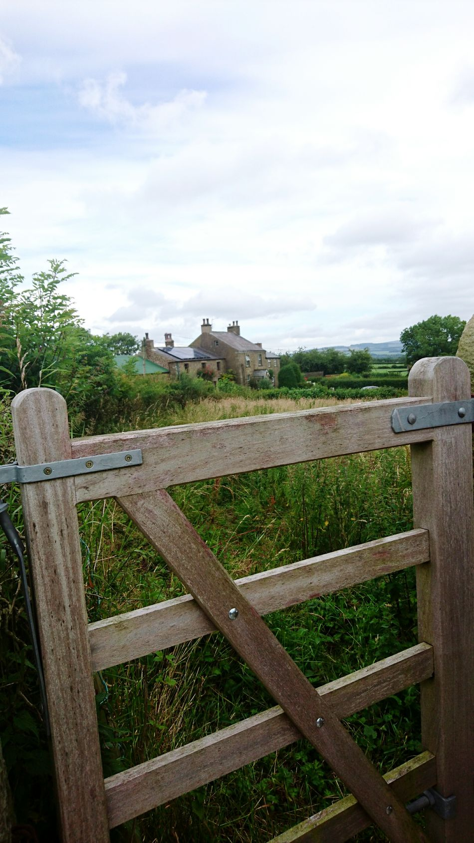 Gate Country Life Countryside Village Life Green Away From It All Tranquil Scene Peace And Quiet Fields In The Distance Check This Out Taking Photos Hello World