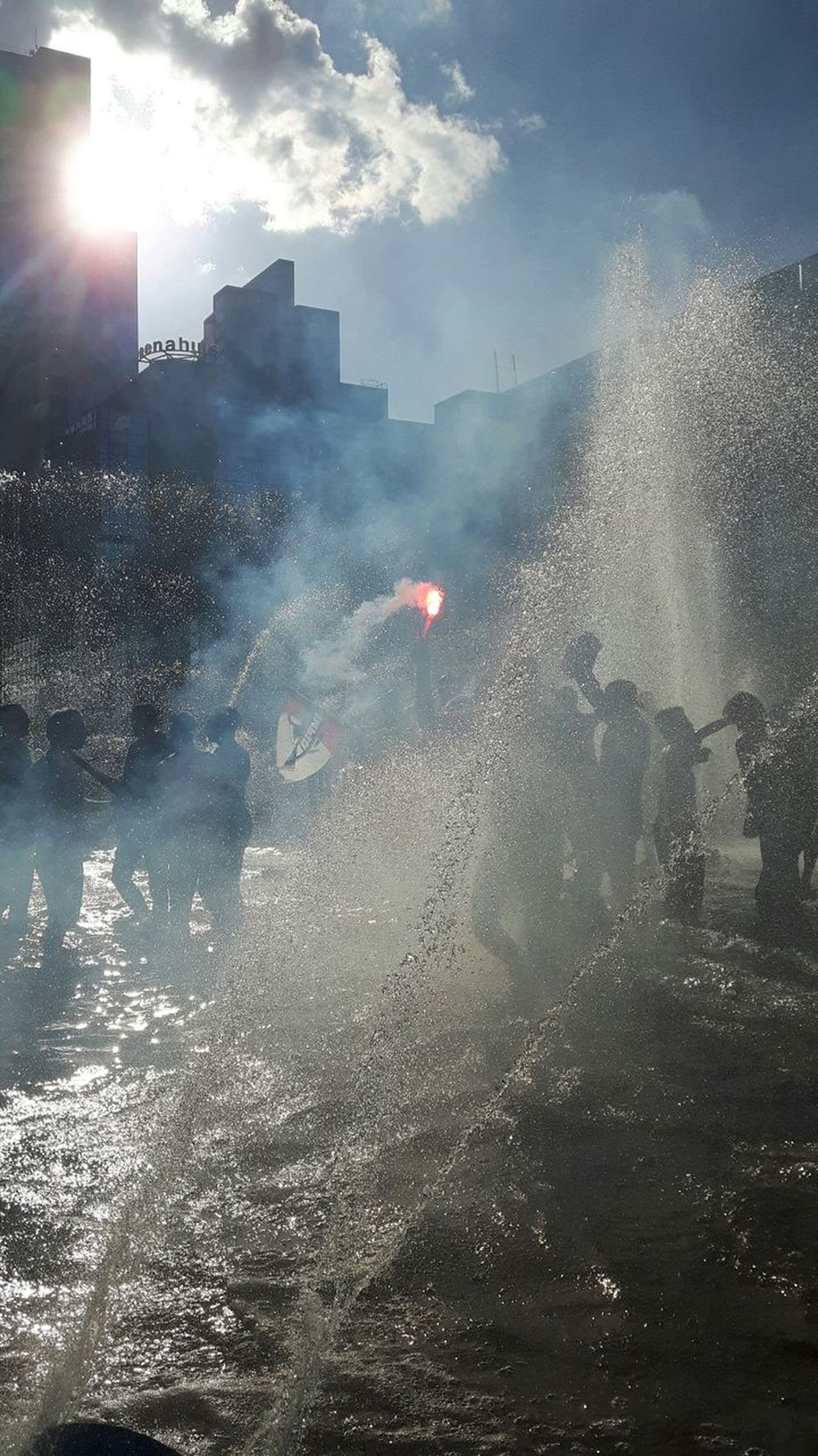 The Street Photographer - 2017 EyeEm Awards Football Fans Celebrating Feyenoord Champions Dancing In Fountain Dancing In The Street Large Group Of People Bengal Firework The Photojournalist - 2017 EyeEm Awards The Great Outdoors - 2017 EyeEm Awards