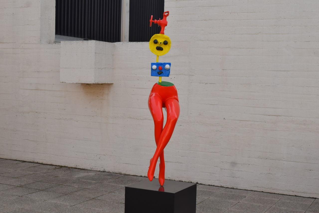 Juan Miró ! Sculpture Exeptional Photographs Barcelona Juan Miró Juan Miró Museum SPAIN Barcelone Things I Like Colour Of Life