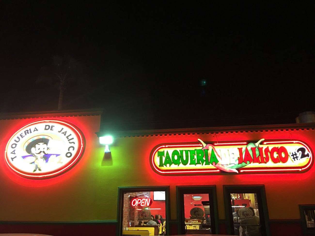 Night Weslaco TX Authentic Mexican Food Enjoying Life Native Edit Ip6s+ Iphonephotography