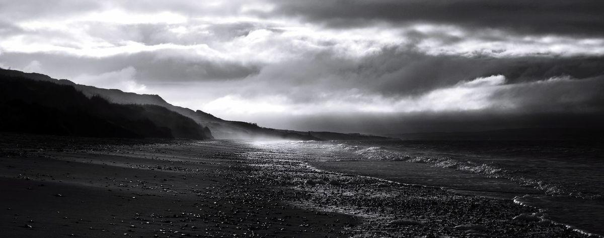 Highcliffecollection] Nikon Beach Highcliffe Beachphotography Blackandwhite Landscape_Collection