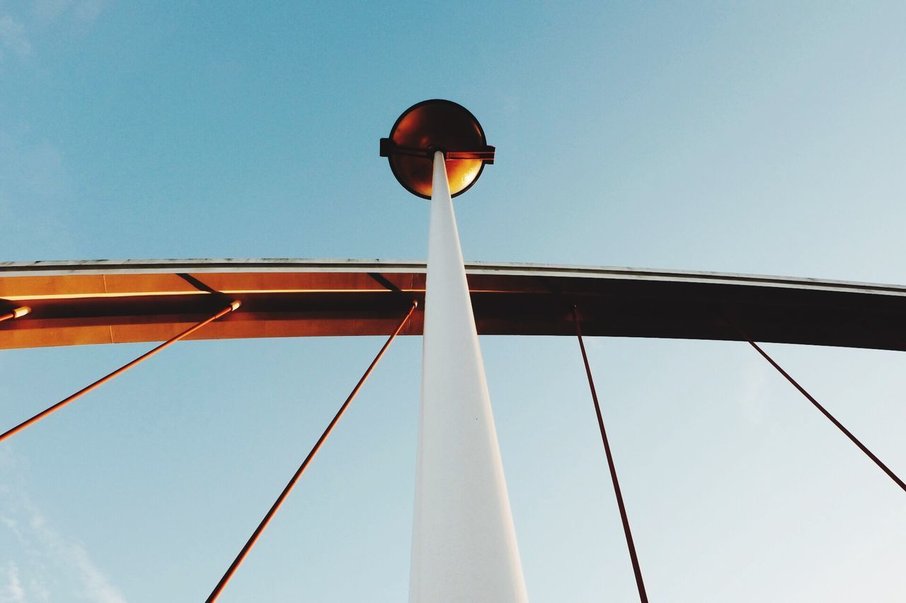 Low Angle View Lighting Equipment No People Connection Architecture Bridge - Man Made Structure The City Light Write Something About You