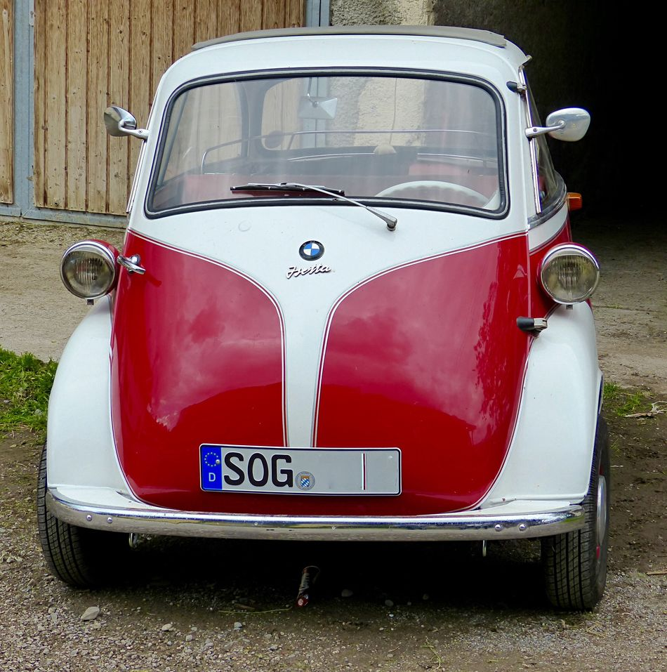 Isetta From My Point Of View Vintage Cars