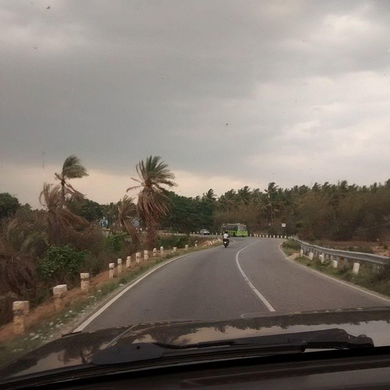 The hunt for a new trail. Leg 3. Kanakpura IndiaTrail Huntforanewtrail Bangalore to Masinagudi Nissan Safari Pouring Rain Clouds