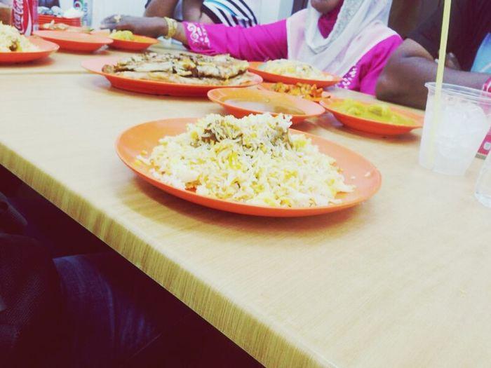 Good food with good accompany