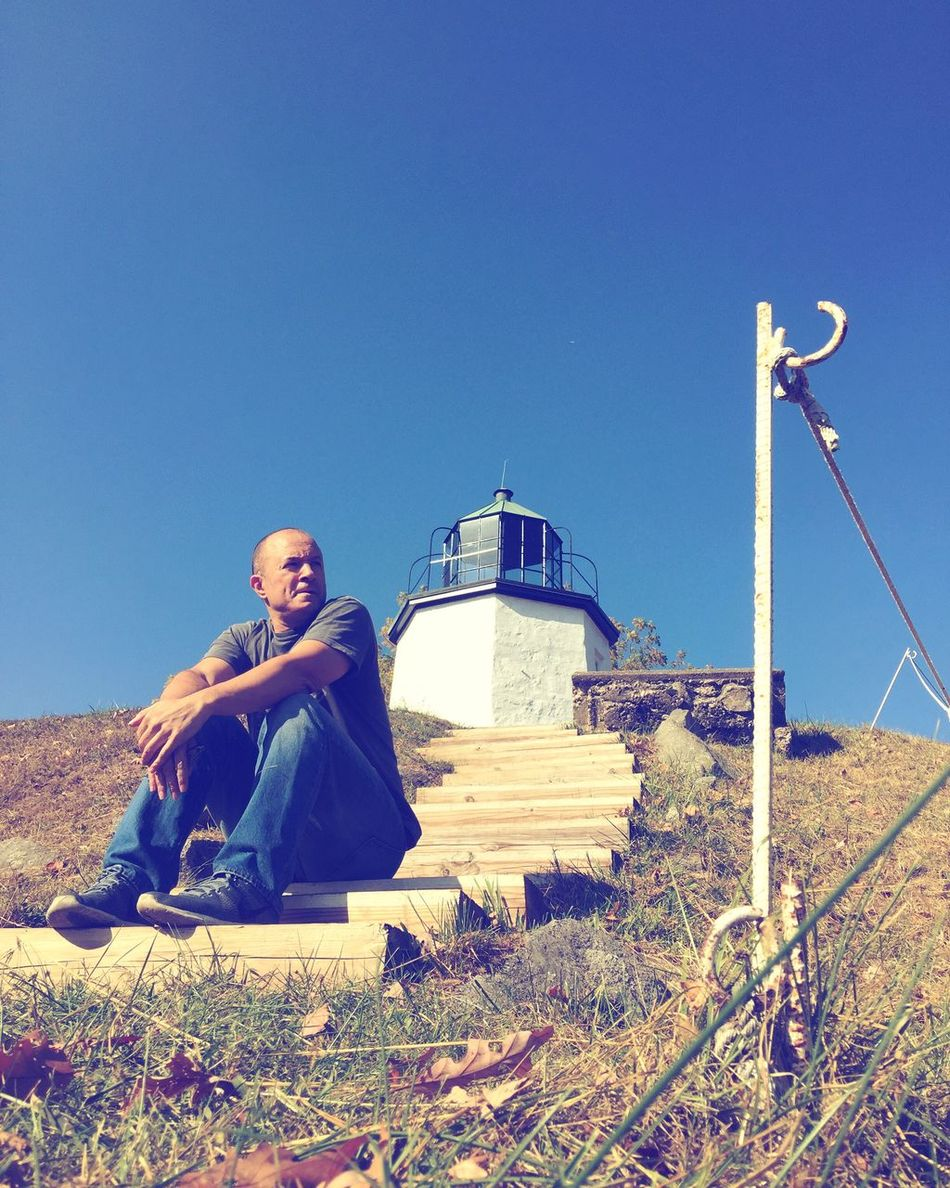 Self Portrait Sitting Clear Sky Outdoors Lighthouse Nature Selfie ✌ Sunlight Selfportrait Self Stoney Point Lighthouses Lighthouse_lovers Lighthouse, Beacon, Light, Guide, Tower, Warn, Americanhistory