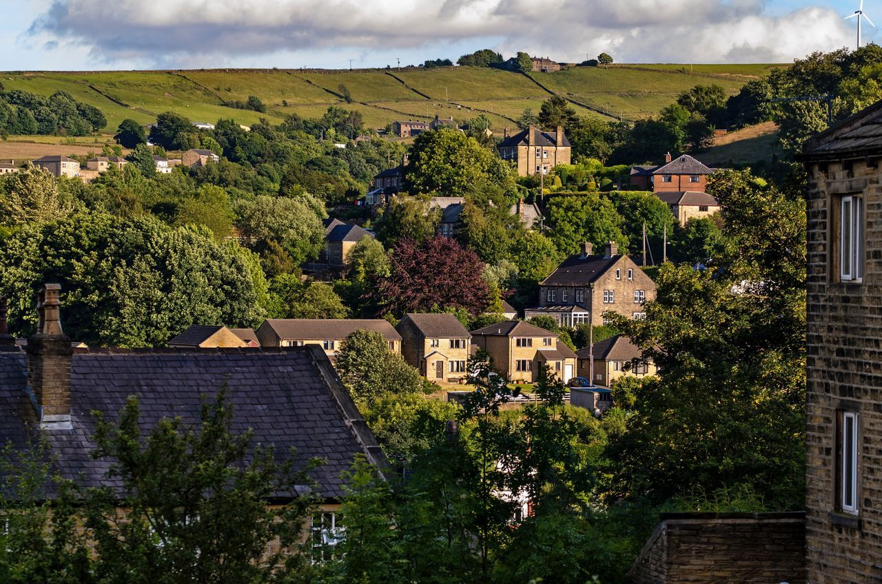 Where I Live Holmfirth Yorkshire Town TOWNSCAPE Country Life Stone Buildings Hills No People Taking Photos Rural Scenes EyeEm Best Shots EyeEm Gallery Outdoors Rural Scene Nikon Eye4photography  Rooftops