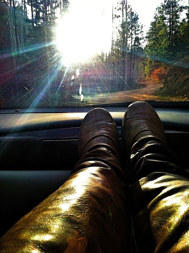 Sunset Nature Driving Boots