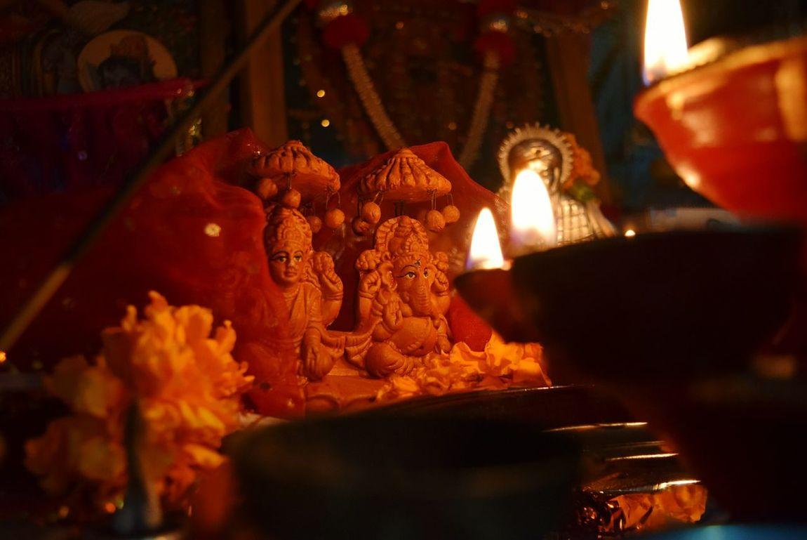 Showcase: January Lord Lakshmi Lord Ganesha