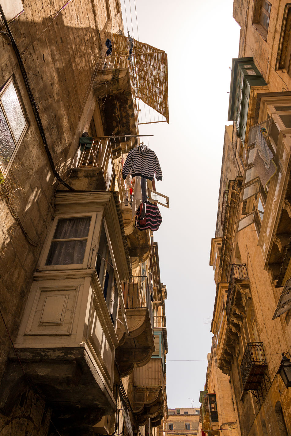 Malta II Architecture Attraction Beige Tones Building Exterior Canon70d Capital City City Life Destination Europa Europe EyeEm Best Shots Island Laundry Lookup Low Angle View Outdoor Sky Streetphotography This Week On Eyeem Tourism Tourist Travel Vacation Valletta,Malta
