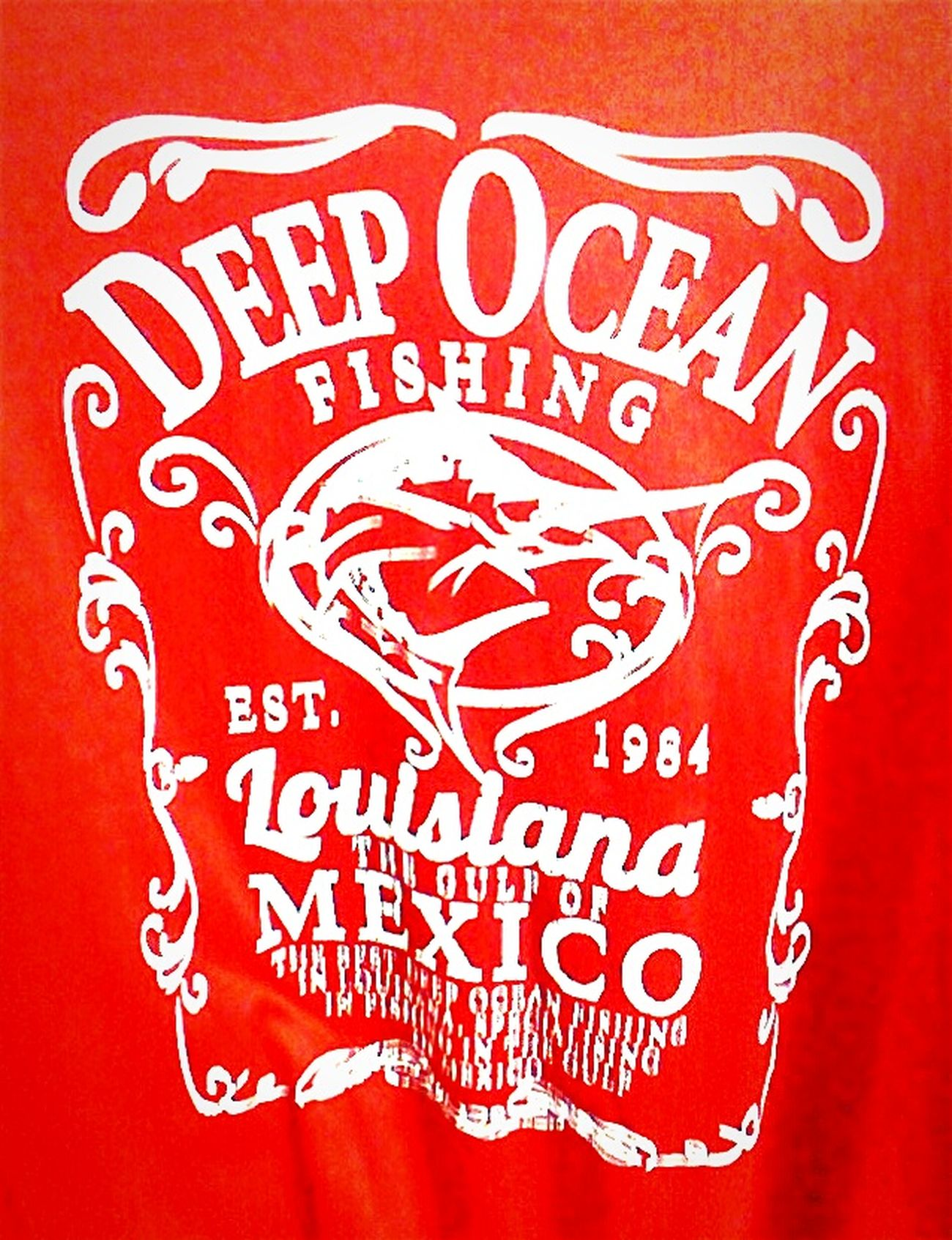 Deep Ocean Fishing In The Gulf Of Mexico Tshirts T_shirt Tshirt Tee Shirt T Shirts Red And White Fishing Time T Shirt Collection T_shirt T Shirt Design Tshirt♡