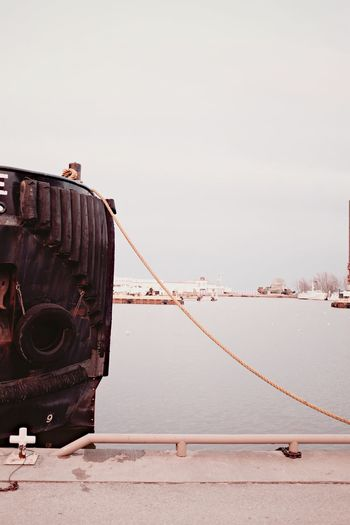 Tugboat Harbour Rope Lake Erie Port Dover Check This Out EyeEm Best Shots Eyem Best Shots Fujifilm X100T Fujifilm_xseries FujiX100T EyeEm Best Edits The Week Of Eyeem Priime