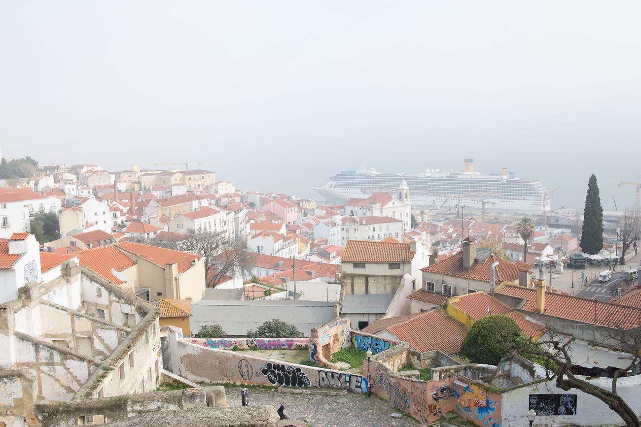 beautiful portugal Cityscape Crowd Day Outdoors People Roof Sky Travel Destinations Urban Skyline