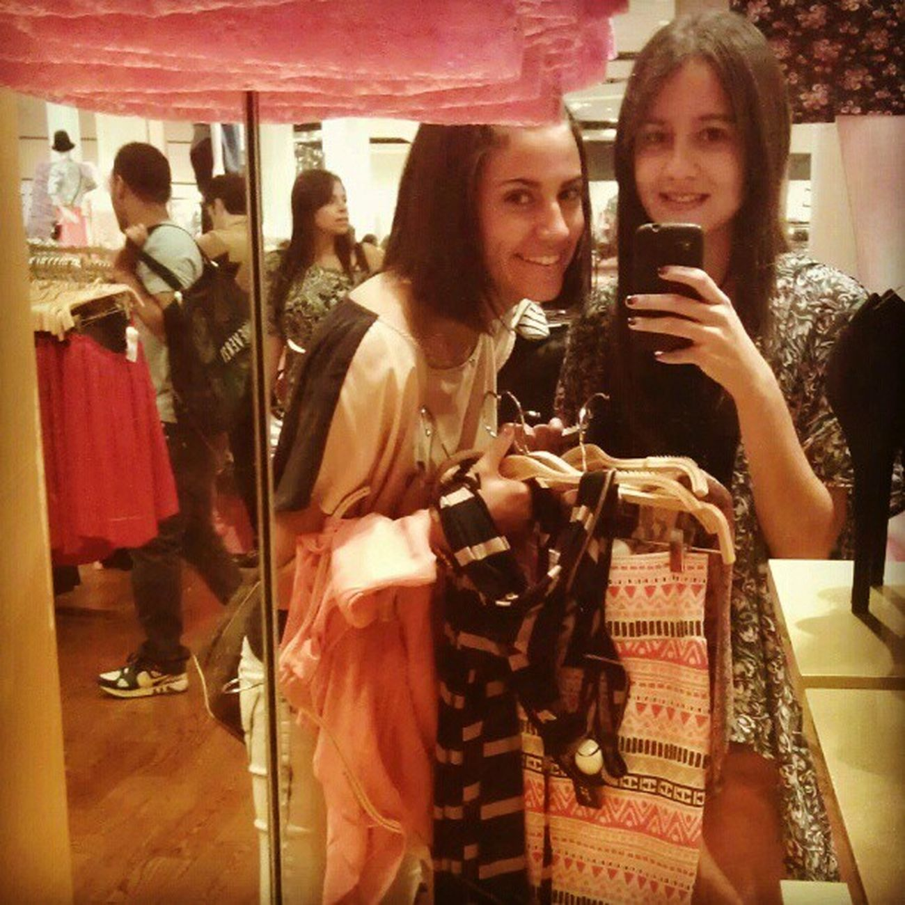 My partner in crime :) @v_alliegro Shopaholics