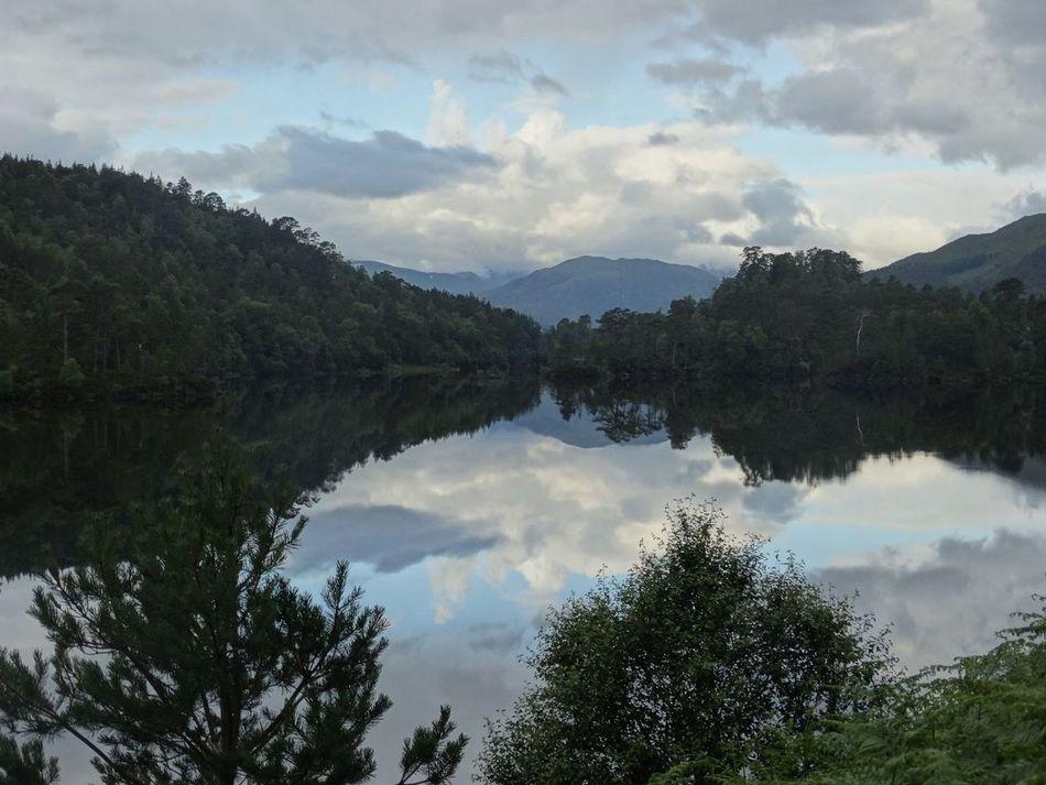 Reflective in Glen Affric Glen Affric Reflection Loch  Beauty In Nature Scotland