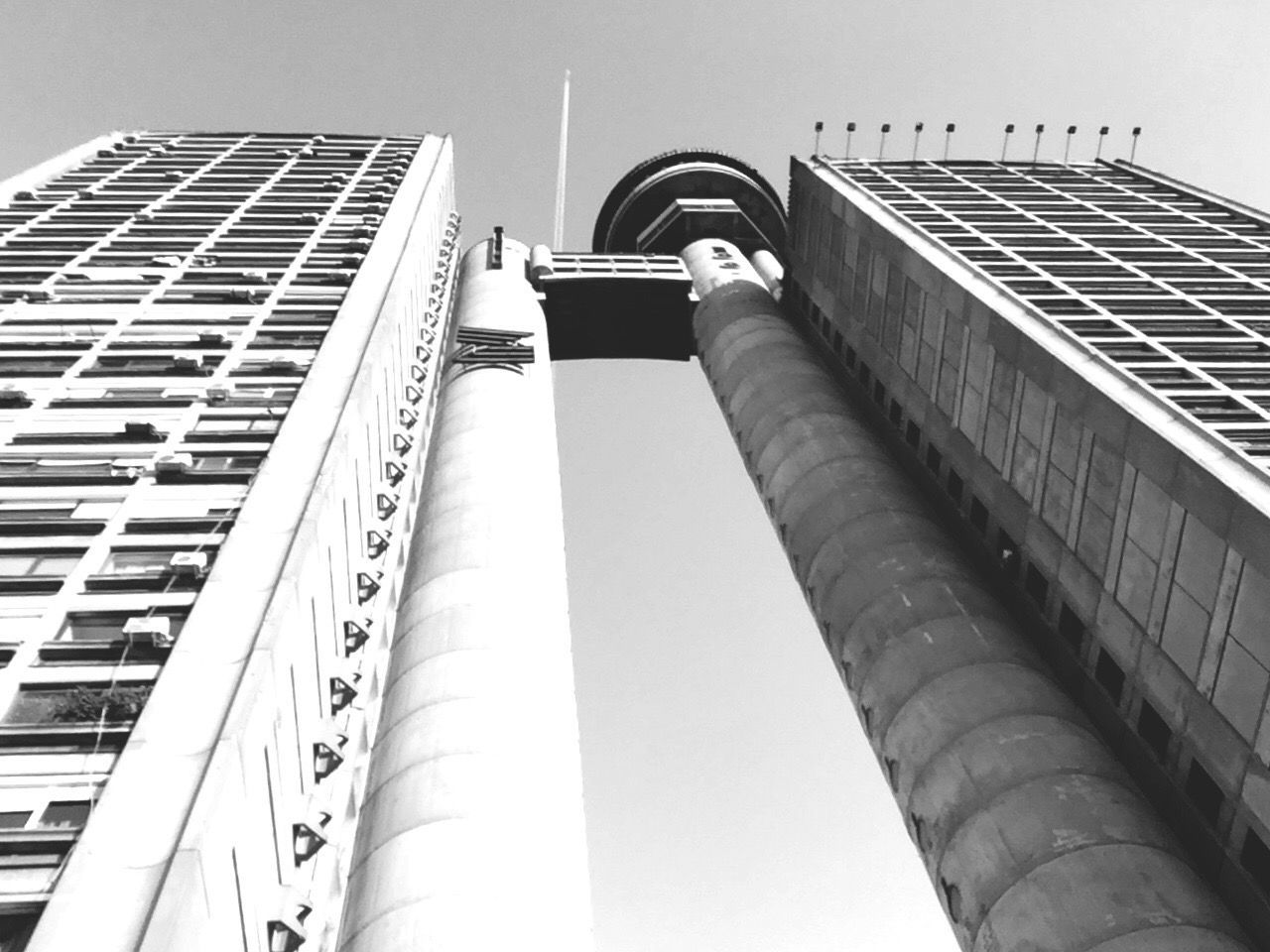 Canonphotography Blackandwhite Low Angle View Built Structure City EyeEmNewHere Adapted To The City