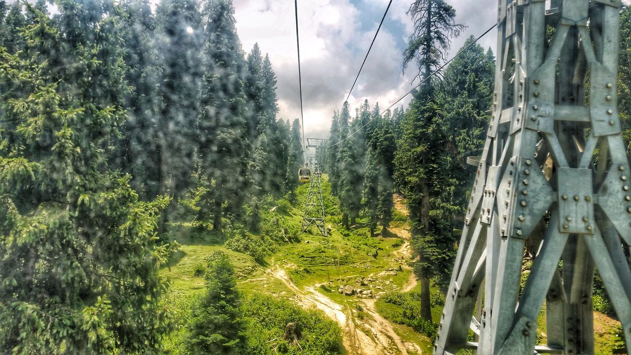 My Year My View Nature Outdoors Freshness Cable Car